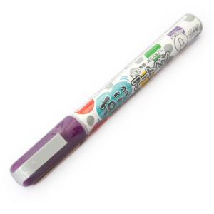 呉竹 くれたけ 工作やハンドクラフトに 石ころアートペン 紫 EH16-2 080 × 6本|donguri-tree