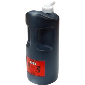 サイズ:1.8L 一般書道用液従来の濃墨より一層ねばりがあり、力強い立体感が得られる。