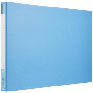 KOKUYO コクヨ ファイル リングファイル ボード表紙 B4 横 170枚 青 フ-429B