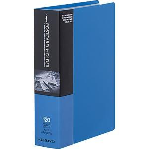 KOKUYO コクヨ ファイル ポストカードホルダー 固定式 A6 60ポケット 最大120枚収容 ...