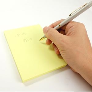 KOKUYO コクヨ 付箋 タックメモ 大型ノートタイプ 無地 黄 メ-1006N-Y|donguri-tree|04