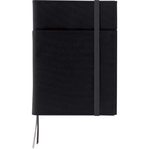 色:通常タイプ 黒 ●ノートやスケジュール帳などの2冊収容に最適なカバーノートです。 ●従来のカバー...
