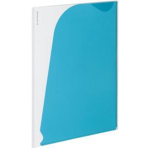 表紙がソフトで薄型のホルダーファイルです。持ち運びに便利。 同シリーズのクリヤーブックαに差し込んで...
