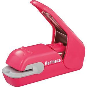 色:ピンク ●圧着してとじるタイプの針なしステープラーです。 ●針を使わずに紙をとじることができるの...