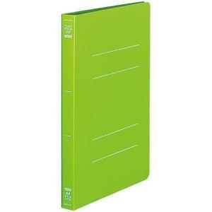 コクヨのPP製フラットファイルのA5サイズ仕様 ●寸法/A5タテ ●とじ厚/15mm ●カラー/黄緑...
