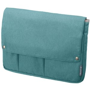 サイズ:A4 |  色:アイスブルー ■ ■ ビジネスシーンで使いやすいバッグインバッグ「ビズラック...