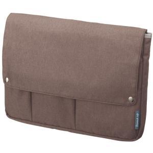 サイズ:A4 |  色:ブラウン ■ ■ ビジネスシーンで使いやすいバッグインバッグ「ビズラック」シ...