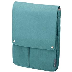 色:アイスブルー ■ ■ ビジネスシーンで使いやすいバッグインバッグ「ビズラック」シリーズに使い勝手...