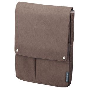 色:ブラウン ■ ■ ビジネスシーンで使いやすいバッグインバッグ「ビズラック」シリーズに使い勝手をさ...