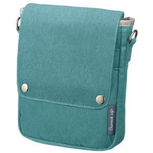 サイズ:A6 |  色:アイスブルー ■ ■ ビジネスシーンで使いやすいバッグインバッグ「ビズラック...