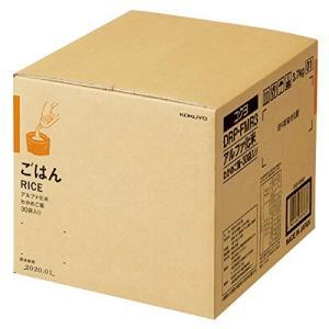 KOKUYO コクヨ まとめ買い 長期保存 備蓄用アルファ化米 わかめご飯 30袋入り DRP-FMR3 ×3|donguri-tree