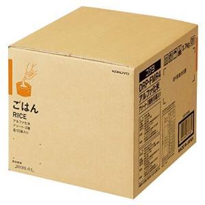 KOKUYO コクヨ まとめ買い 長期保存 備蓄用アルファ化米 白米 五目ご飯 わかめご飯 30袋入り 3種×各10袋 DRP-FMR4 ×3|donguri-tree