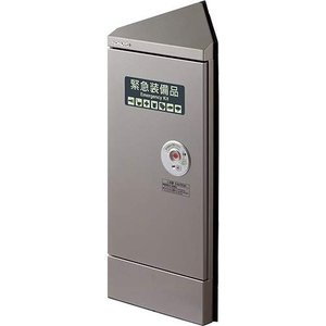 KOKUYO コクヨ エレベーター用防災キャビネット コーナータイプ DRK-EC1CS コーナータイプ|donguri-tree