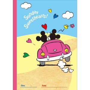 SUNSTAR サンスター文具 クラフトノートB5 DC ST ディズニースタンダー S2612810 × 10冊|donguri-tree