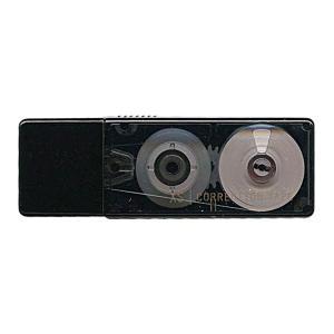 Midori ミドリ XS 修正テープ 黒 35262-006|donguri-tree