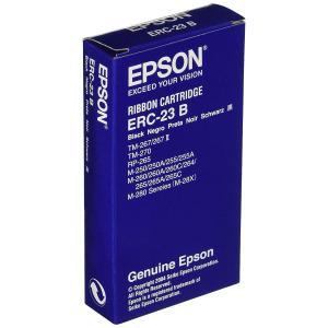 SEIKO EPSON セイコー エプソン ミニプリンター用リボンカセット 黒 ERC-23B|donguri-tree