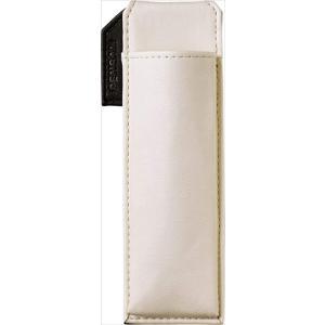 色:白 ?|? スタイル:スリムタイプ はさめるペンケース マグネットが内蔵されており、手帳やジャケ...