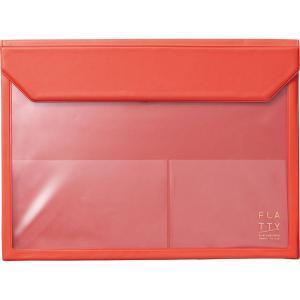 サイズ:A4 ?|? 色:赤 【バックインバック「フラッティ」で、あなたカバンをもっと使いやすく】 ...