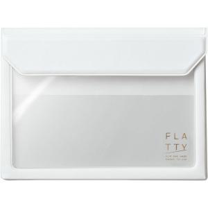 サイズ:A6 ?|? 色:白 【かさばらないバッグインバッグ「フラッティ」に、新たなサイズが仲間入り...