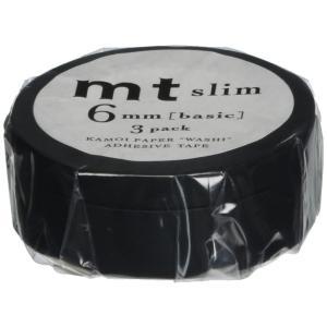3巻入りパック(フィルム包装パッケージ)  テープサイズ:6mm×10m