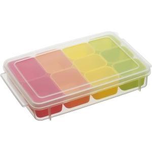サイズ:約60ml×4、約35ml×6 商品紹介 お弁当のおかずの作り置きを小分けにして保存できる容...