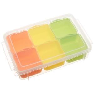 サイズ:約100ml×6 商品紹介 お弁当のおかずの作り置きを小分けにして保存できる容器 離乳食や薬...