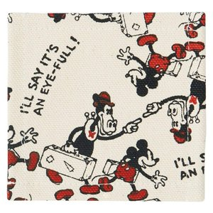 SKATER スケーター コースター ミッキー 総柄 Disney Kitchen Fabric SERIES Coaster YCT1