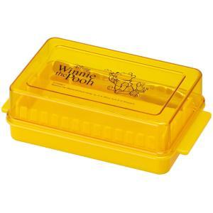 SKATER スケーター バターケース バター容器 バターケース カッター付き くまのプーさん ディ...