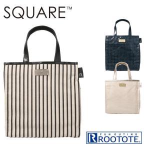 ROOTOTE ルートート スクエア リュストル OH (レディース サブバッグ 小さめ ちいさめ トートバッグ バッグ 箱型バッグ スクエアバッグ SQUARE)|donguri-tree