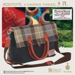 ROOTOTE ルートート OSLO オスロ Harris Tweed ハリスツイード 2015 (あす楽対応 トートバッグ ハリス ツイード メンズ ショルダーバッグ 通勤バッグ 2way 鞄)|donguri-tree