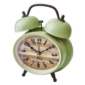 INTERFORM インターフォルム 置き時計 Ravels ラフェルス GN グリーン CL-1030GN (新生活応援 インテリア 置時計 おしゃれ 北欧 プラスチック)|donguri-tree