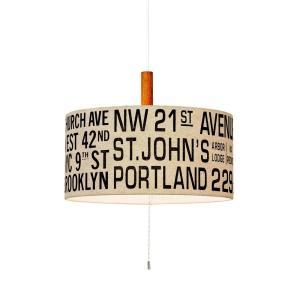 INTERFORM インターフォルム ペンダントライト Bus Roll Lamp バスロールランプ アイボリー 適用畳数 ~6畳 LT-1121IV (新生活応援 照明 インテリア おしゃれ)|donguri-tree
