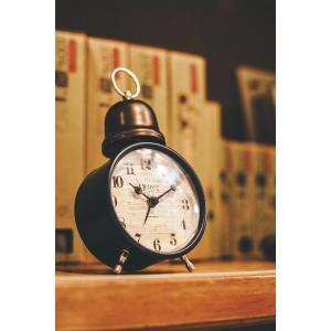 INTERFORM インターフォルム 置時計 クロシュ Croche 煉瓦調 アラーム ホワイト CL-1275WH (新生活応援 インテリア 置き時計 おしゃれ 北欧)|donguri-tree|04