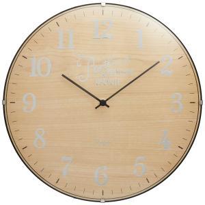 INTERFORM インターフォルム 電波掛け時計 ブリアック Bouliac ツートンカラー 電波 ナチュラル CL-1374NA (新生活応援 インテリア 掛け時計 掛時計 かけ時計)|donguri-tree