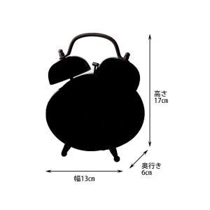 INTERFORM インターフォルム 置き時計 ミートカッツ Meat Cuts レッド CL-1473RD (新生活応援 インテリア 置時計 おしゃれ 北欧 赤 red プラスチック)|donguri-tree|02