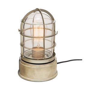INTERFORM インターフォルム テーブルライト グラスバウ -テーブル- アンバー クリアガラス LED電球付き (新生活応援 照明 インテリア おしゃれ 北欧 led)|donguri-tree