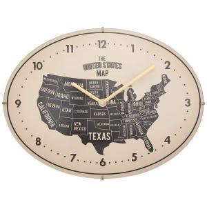 INTERFORM インターフォルム 掛け時計 ローゼル ROZEL アイボリー CL-1685IV (新生活応援 インテリア 掛時計 かけ時計 壁掛け おしゃれ 北欧)|donguri-tree