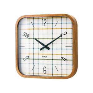 INTERFORM インターフォルム 電波掛け時計 Holte ホルテ ミックスカラー CL-2127MX (新生活応援 インテリア 掛け時計 掛時計 かけ時計 電波 壁掛け おしゃれ)|donguri-tree