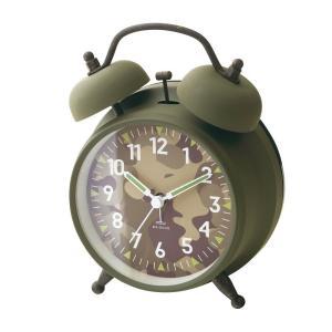 INTERFORM インターフォルム 置き時計 Dawlish -Bell- ダウリッシュ -ベル- ライトブラウン CL-2145LB (新生活応援 照明 インテリア 置時計 おしゃれ 北欧)|donguri-tree