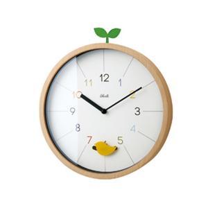 INTERFORM インターフォルム 掛け時計 Drossel ドロッセル ホワイト CL-2945 (新生活応援 掛時計 かけ時計 壁掛け おしゃれ 北欧 音がしない 連続秒針)|donguri-tree