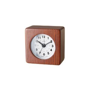 INTERFORM インターフォルム 置時計 Tessera テッセラ ブラウン CL-2959BN (新生活応援 インテリア 置き時計 おしゃれ 北欧)|donguri-tree