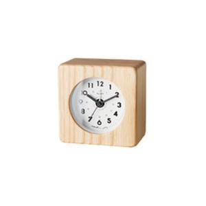 INTERFORM インターフォルム 置時計 Tessera テッセラ ナチュラル CL-2959NA (新生活応援 インテリア 置き時計 おしゃれ 北欧)|donguri-tree