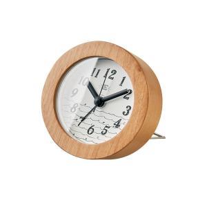 INTERFORM インターフォルム 置時計 Billow ビロー ホワイト CL-2963WH (新生活応援 インテリア 置き時計 おしゃれ 北欧)|donguri-tree