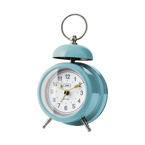 INTERFORM インターフォルム 置時計 Wolica ウォリカ ブルー CL-2965BL (新生活応援 インテリア 置き時計 おしゃれ 北欧 プラスチック) donguri-tree
