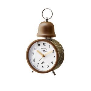 INTERFORM インターフォルム 置き時計 ブラウン 幅10×高さ19×奥行6.5 Go Wild-Bell-ゴー ワイルド-ベル CL-3033BN (新生活応援 インテリア 置時計 おしゃれ) donguri-tree