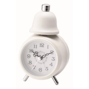 INTERFORM インターフォルム 置き時計 DEAR ディアー CL-4982WH (新生活応援 インテリア 置時計 おしゃれ 北欧 プラスチック)|donguri-tree