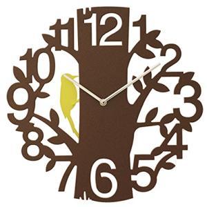 INTERFORM インターフォルム 掛け時計 PICUS ピークス CL-5743BN (新生活応援 インテリア 掛時計 かけ時計 壁掛け おしゃれ 北欧 プラスチック)|donguri-tree