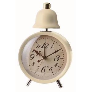 INTERFORM インターフォルム 置き時計 LEGER レジェ CL-5762IV (新生活応援 インテリア 置時計 おしゃれ 北欧 プラスチック)|donguri-tree