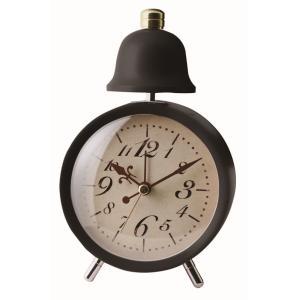 INTERFORM インターフォルム 置き時計 LEGER レジェ CL-5762BK (新生活応援 インテリア 置時計 おしゃれ 北欧 プラスチック)|donguri-tree