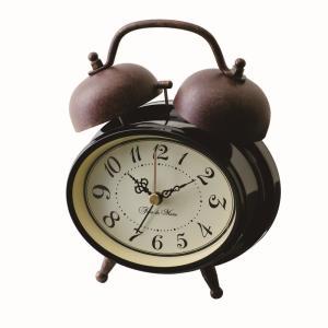 INTERFORM インターフォルム 置き時計 TROTS -トロッツ- CL-6871BK (新生活応援 インテリア 置時計 おしゃれ 北欧 プラスチック)|donguri-tree